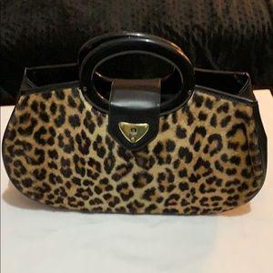 Handbags - Leopard print purse